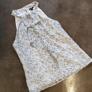 Ann Taylor Silk Blouse Size 10